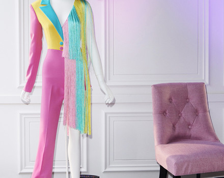 Christian Siriano's SweeTARTs Suit