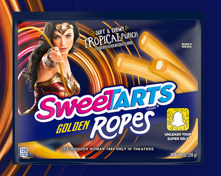 SweeTarts Golden Ropes Wonder Woman 1984
