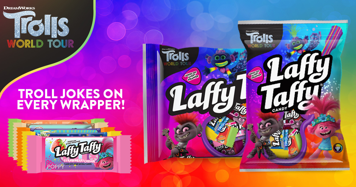 Laffy Taffy Trolls World Tour