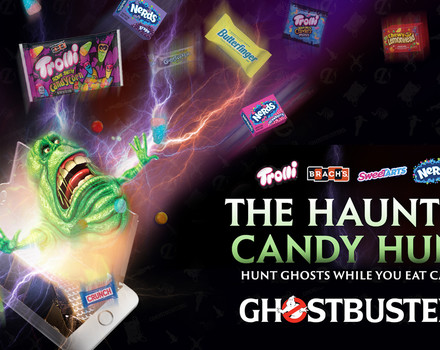 The Haunted Candy Hunt with Ferrara Candy and Ghostbusters